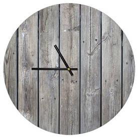 Часы настенные круглые, 36 см Доски