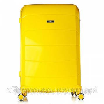 Валіза lдорожный з поліпропілену жовтий 70*48*29