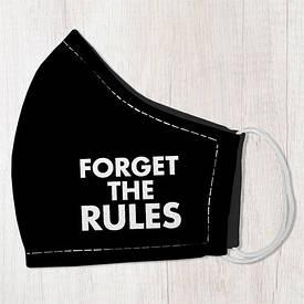 Маска защитная для лица, размер L-XL Forget the rules