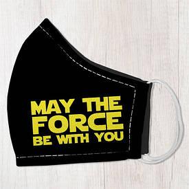 Маска защитная для лица, размер L-XL May the force be with you