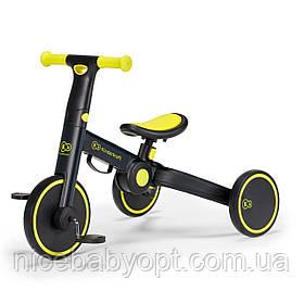 Трехколесный велосипед 3 в 1 Kinderkraft 4TRIKE Black Volt