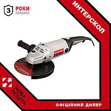 Кутова шліфмашина Интерскол УШМ-230/2100 М