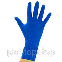 Оглядові рукавички нестерильні AMBULANCE PF (High Risk) S 25пар / уп, фото 3