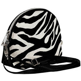Маленькая женская сумочка Coquette Окрас зебры