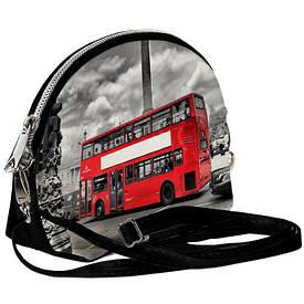 Маленькая женская сумочка Coquette Лондонский автобус