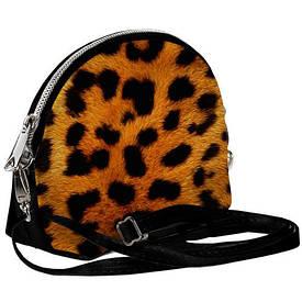 Маленькая женская сумочка Coquette Леопард
