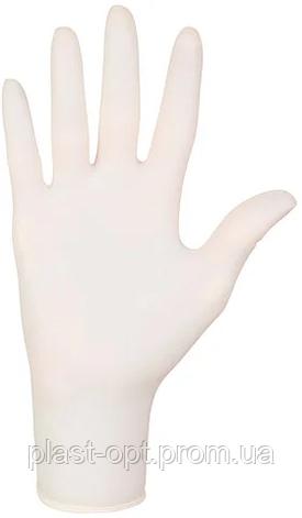 Рукавички латексні Mercator Medical Santex powdered, розмір M , 50 пар., фото 2
