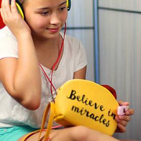 Маленькая женская сумочка Coquette Believe in miracles