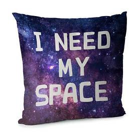 Наволочка для подушки 45х45 см I need my space