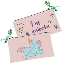 Женская косметичка Единорог I'm a unicorn