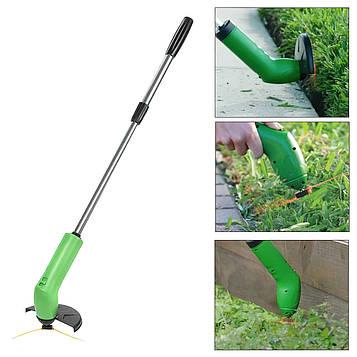 Міні газонокосарка на акумуляторі Zip Trim, бездротова косарка з волосінню | бездротова газонокосарка (SV)