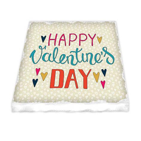 Магнит керамический Happy Valentine`s day, фото 2