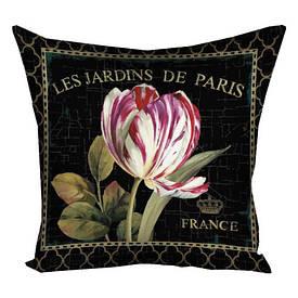 Наволочка для подушки 30х30 см Les jardins de Paris