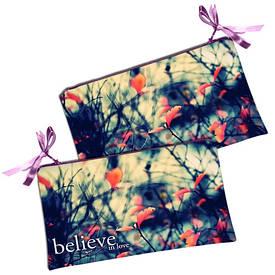 Женская косметичка Believe in love