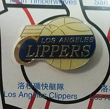 Металлический значок баскетбольного клуба «Лос-Анджелес Клипперс»