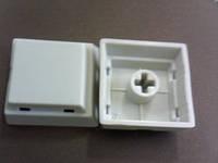 Колпачек на кнопку 17x17мм серый (KC1)