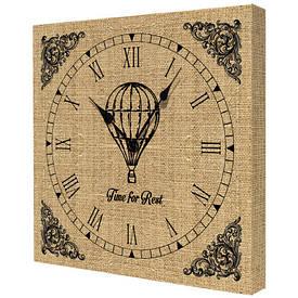 Часы настенные квадратные Time for rest