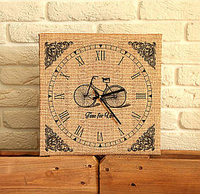 Часы настенные квадратные Time for life