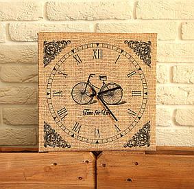 Годинники настінні квадратні Time for life