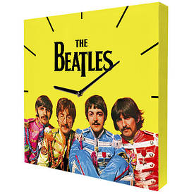 Годинники настінні квадратні The Beatles