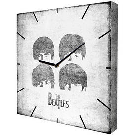 Часы настенные квадратные The Beatles
