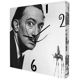 Часы настенные квадратные Сальвадор Дали