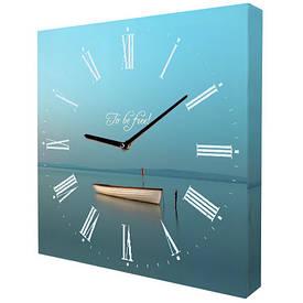 Часы настенные квадратные To be free!