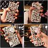 """Чехол со стразами силиконовый противоударный TPU для Xiaomi Mi 8 SE """"SWAROV LUXURY"""", фото 6"""