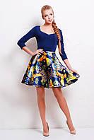 Нарядное женское платье с пышной юбкой Анфиса, фото 1