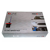 Комплект біксенона QLine Max Light Н4 H/L 5500К