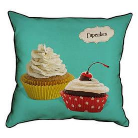Наволочка декоративна 45х45 см Cupcakes