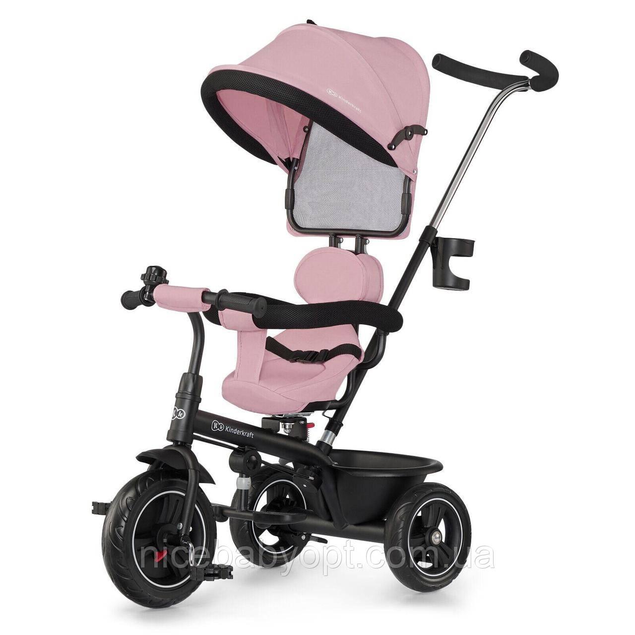 Трехколесный велосипед Kinderkraft Freeway Pink