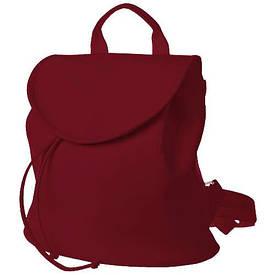 Рюкзак жіночий кожзам Mod MINI, колір бордовий