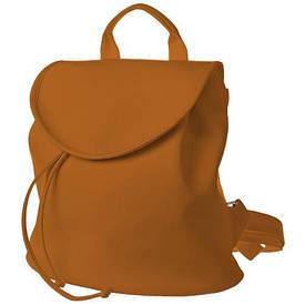 Рюкзак жіночий кожзам Mod MINI, колір рудий