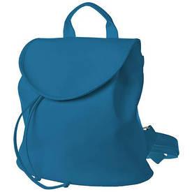 Рюкзак жіночий кожзам Mod MINI, колір блакитний
