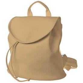 Рюкзак жіночий кожзам Mod MINI, колір горіховий