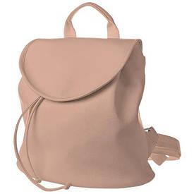 Рюкзак жіночий кожзам Mod MINI, колір пудра