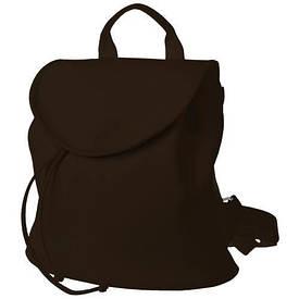 Рюкзак жіночий кожзам Mod MINI, колір темно-коричневий