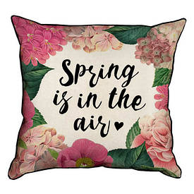 Наволочка декоративна 45х45 см Spring is in the air