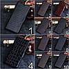 """Чехол книжка из натуральной кожи премиум коллекция для Xiaomi Mi 8 lite """"SIGNATURE"""", фото 3"""
