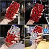 """Чехол со стразами силиконовый противоударный TPU для Xiaomi Mi 8 lite """"SWAROV LUXURY"""", фото 4"""