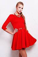 Красное женское платье Фелита, фото 1