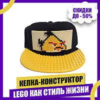 Кепка-конструктор BricksCap Angry Birds