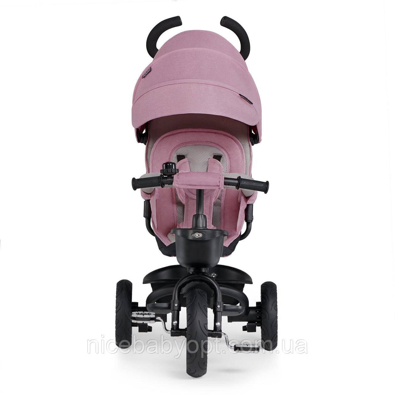 Триколісний велосипед Kinderkraft Spinstep Mauvelous Pink