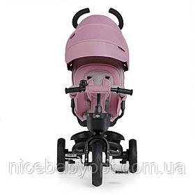 Трехколесный велосипед Kinderkraft Spinstep Mauvelous Pink