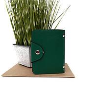Візитниця штучна шкіра зелений Арт.C446-P-J396 green Balisa (Китай)