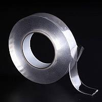 Многоразовая сверхсильная клейкая лента Ivy Grip Tape 1 м Прозрачная HbP654221, КОД: 1529530