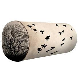 Подушка валик Пташки