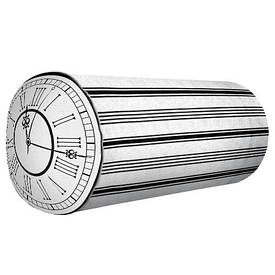 Подушка валик Годинник