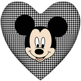 Подушка сердце Микки Маус